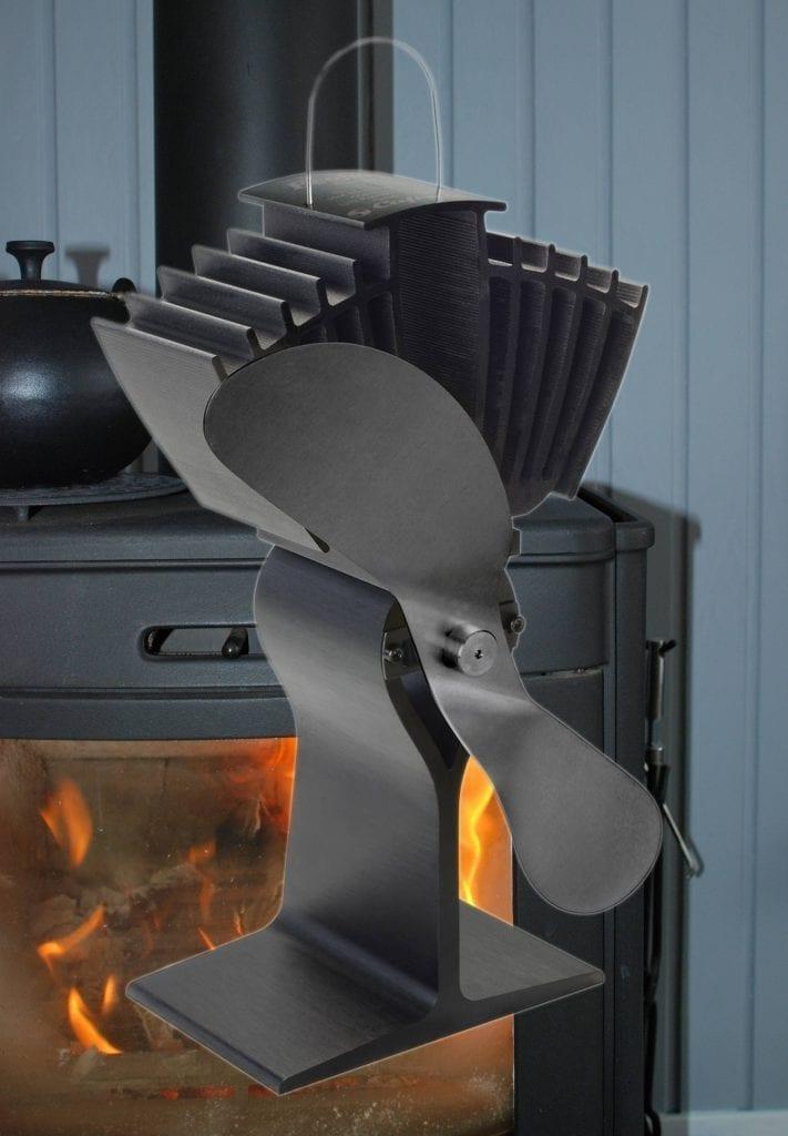 Fantastisk Varmefordeler til brændeovn | Spreder varme & hygge | Legrej.dk LY03